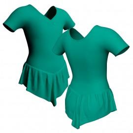 Body danza con gonnellino manica corta SK714LCL1008