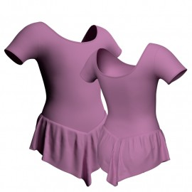 Body danza con gonnellino manica corta SK714LCL407
