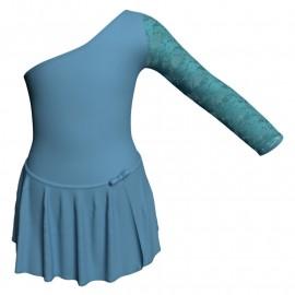 Body danza con gonnellino senza maniche e inserto SK515LPL999T