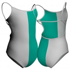 Body danza bicolore bretelle PLD2020