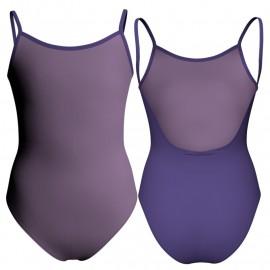 Body danza bicolore bretelle PLK1010