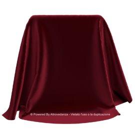 Velluto Liscio | Colore V902 - Bordeaux