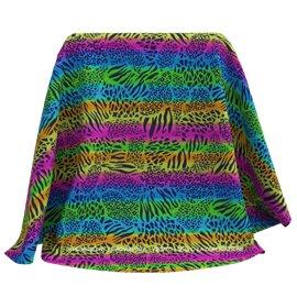 Lycra Animal Multicolors