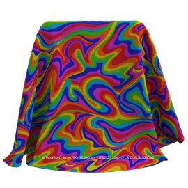 Lycra Wave Abstract