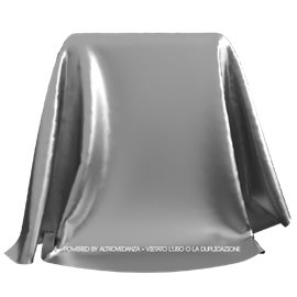 Lycra Metallic | Colore MC8001 - Argento