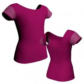 T-shirt & Top maniche aletta con inserto MLC231