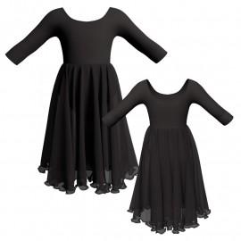 Costume balletto maniche 3/4 YUU406